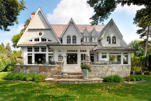 American gothic el estilo m s nico canexel for Casas de madera estilo americano