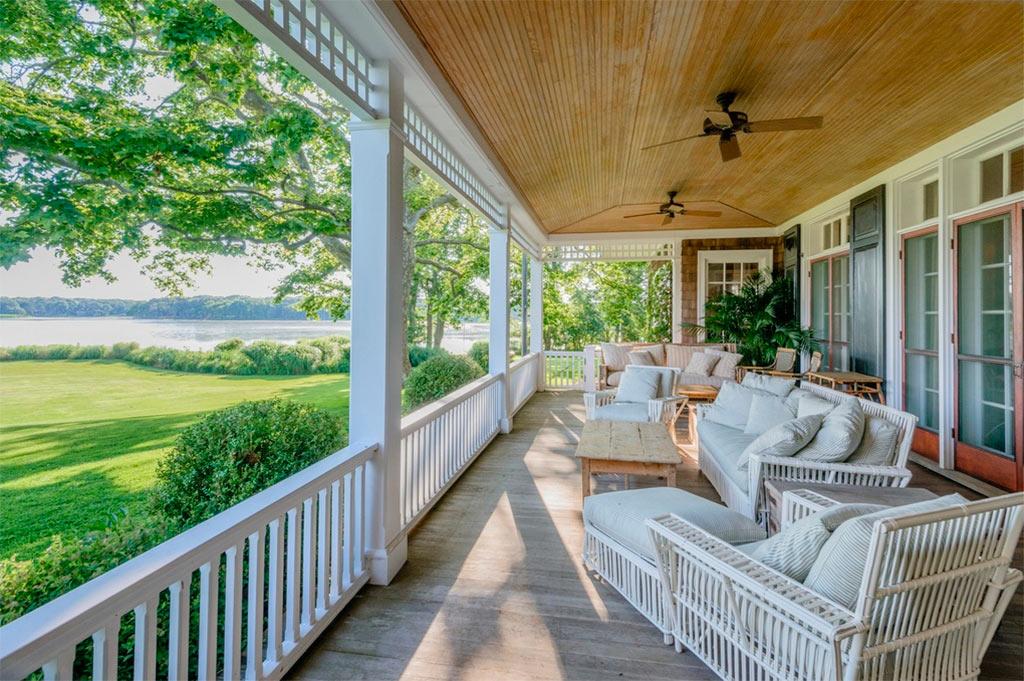 Casa de lujo en los hamptons canexel - Casas americanas con porche ...