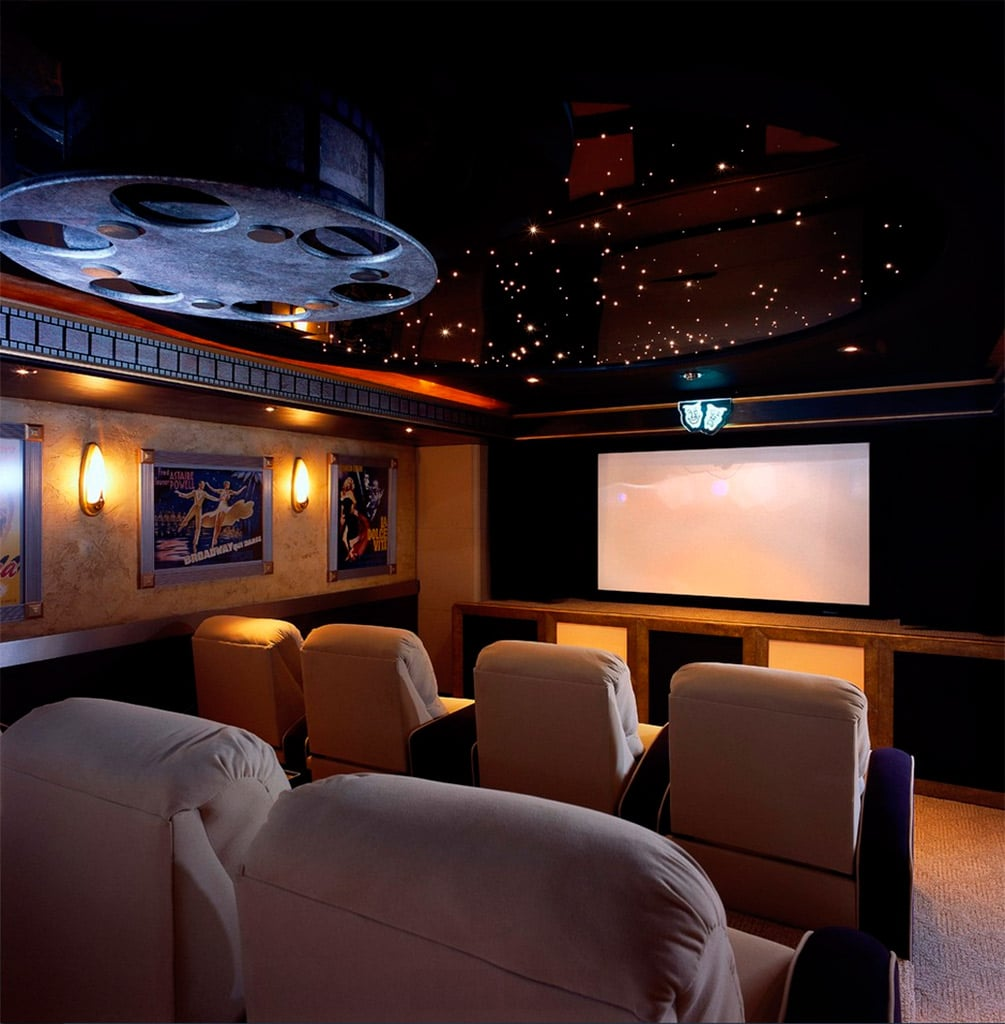 Small Home Theater Room Design: Salas De Cine En Casa