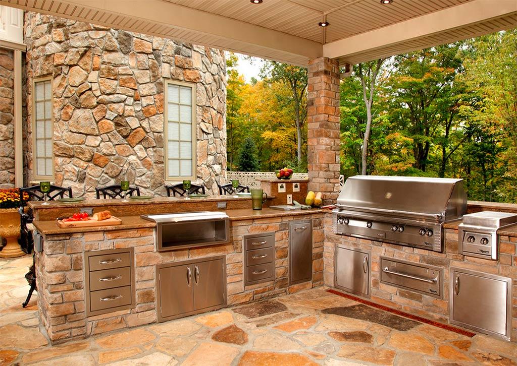 Cocinas de exterior - Canexel