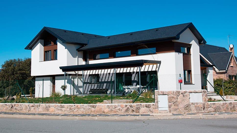 Casa marsella port canexel for Casas de madera modernas