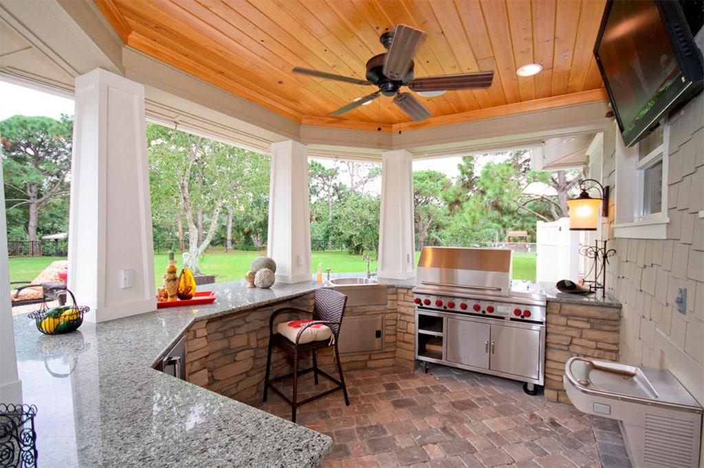 Cocinas de exterior canexel - Cocinas de casas ...
