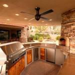 cocina de exterior