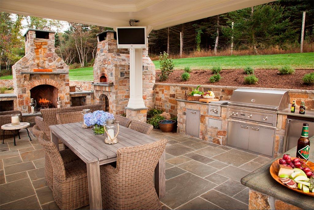 Cocinas de exterior canexel for Cocina exterior jardin