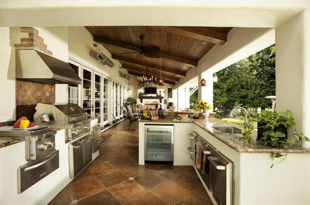 Cocinas de exterior canexel - Cocinas de exterior con barbacoa ...