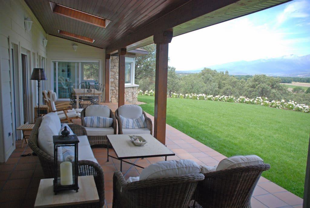 Porche deck o sunroom la transici n con el exterior - Casas de madera blancas ...