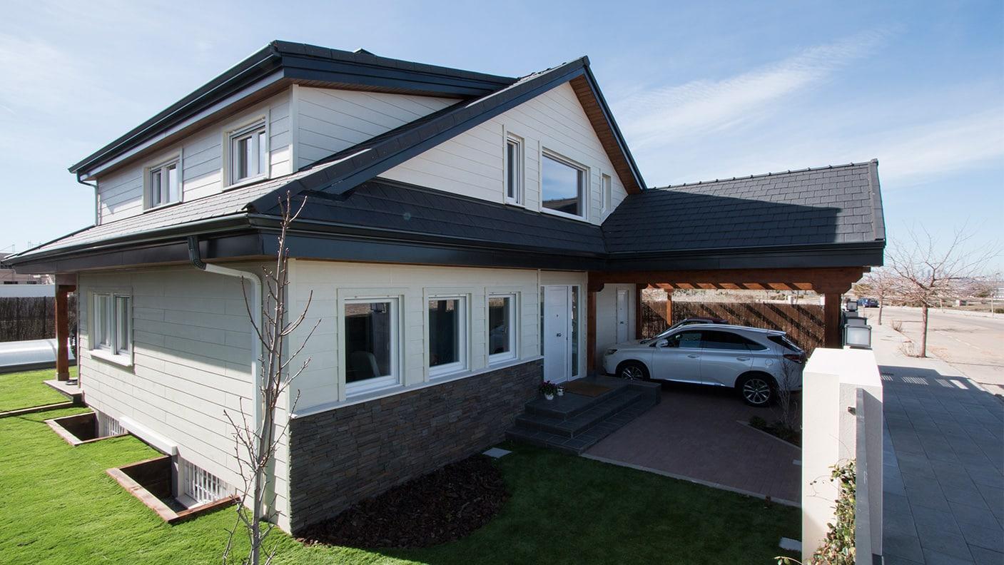 Casas de madera estilo americano casas de madera estilo - Casas estilo americano ...