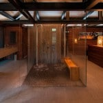 ducha de obra Casa de lujo