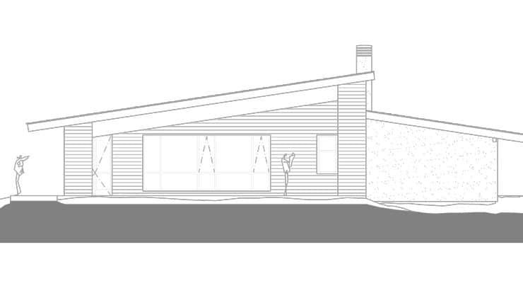 restaurante de estructura de madera