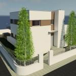 casa con cubierta plana