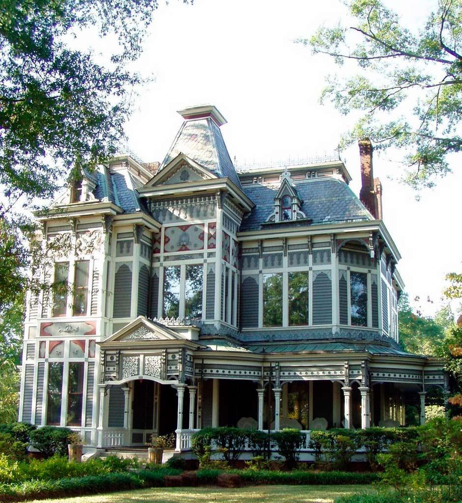Queen anne el estilo cl sico victoriano canexel for Piani di casa cottage gotico