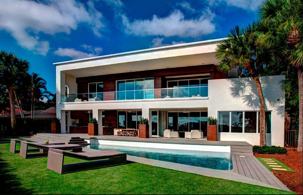 Casa moderna de lujo en orlando canexel for Las casas modernas