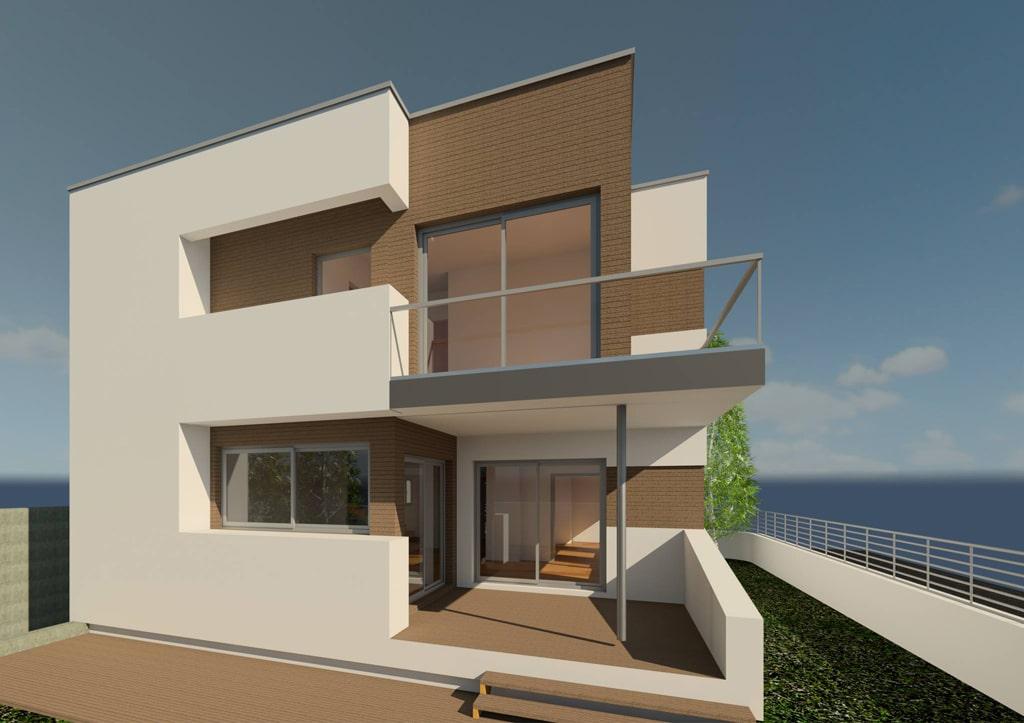 Casa moderna en montgat canexel - Casas de canexel ...