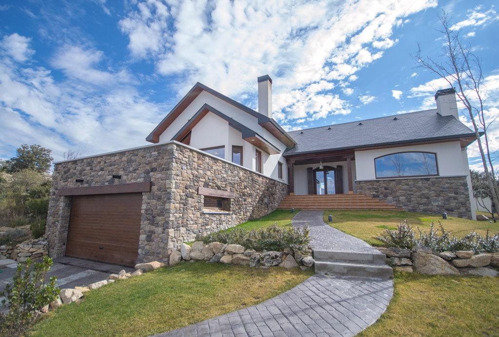 Casa charlotte canexel - Fotos de casas de madera y piedra ...