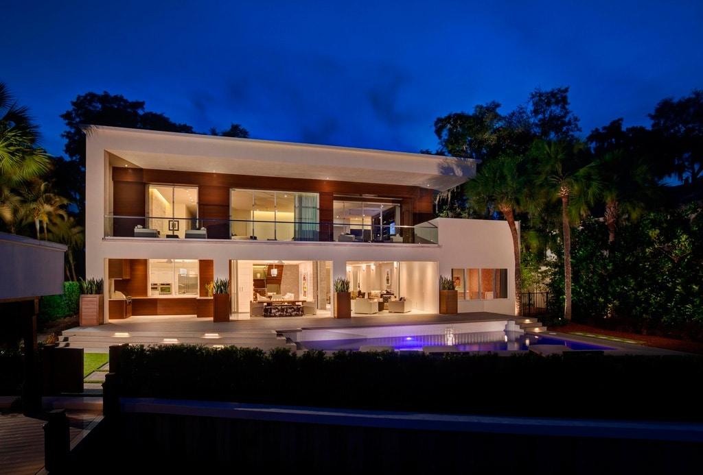 Casa moderna de lujo en orlando canexel for La casa moderna