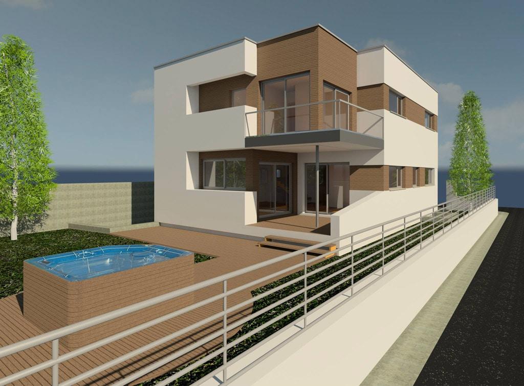 Casa moderna en montgat canexel for Casa moderna jesolo