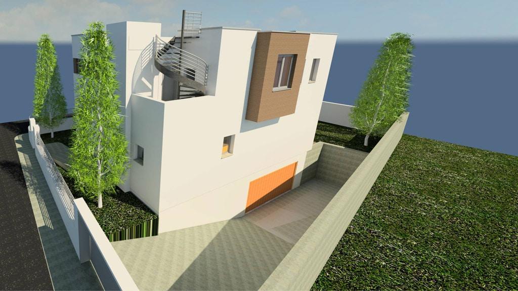 Casa moderna en montgat canexel for Casa moderna orlando