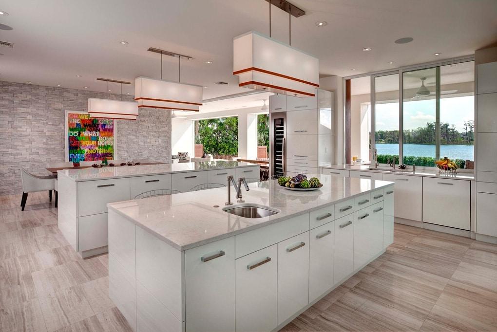 Casa moderna de lujo en orlando canexel for Cocinas de lujo