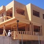 esctructura de una casa de madera