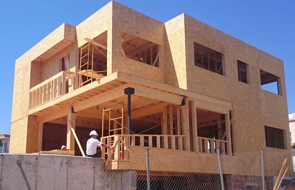 Casa moderna en montgat canexel - Casas estructura de madera ...