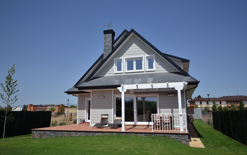 Casa wembley canexel for Casas de madera estilo americano