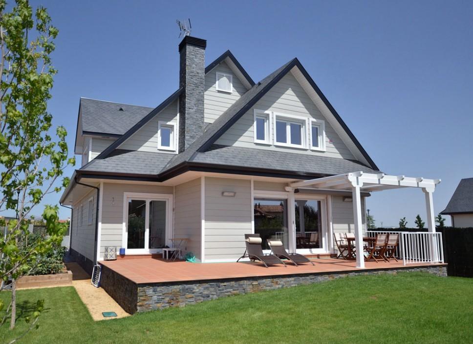 Casa wembley canexel - Canexel casas de madera ...