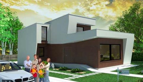 Casas prefabricadas canexel construcci n canadiense - Habitaciones de madera prefabricadas ...