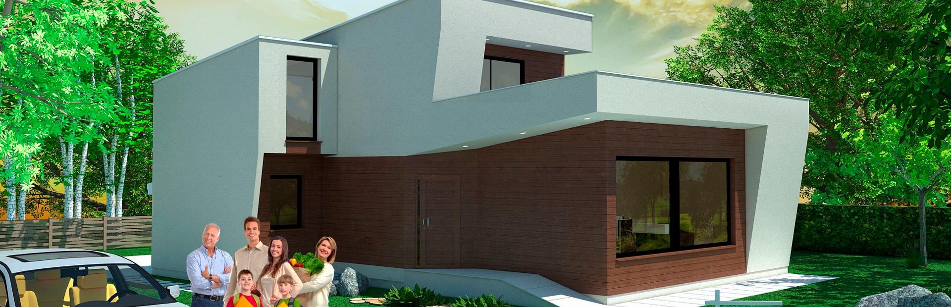 Casas Prefabricadas - Canexel Construcción Canadiense
