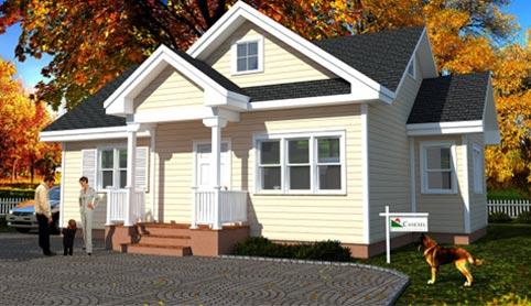 Casas prefabricadas canexel construcci n canadiense - Cuanto cuesta hacer una casa de dos plantas ...