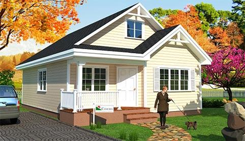 Casas prefabricadas canexel construcci n canadiense for Fabricantes de casas de madera