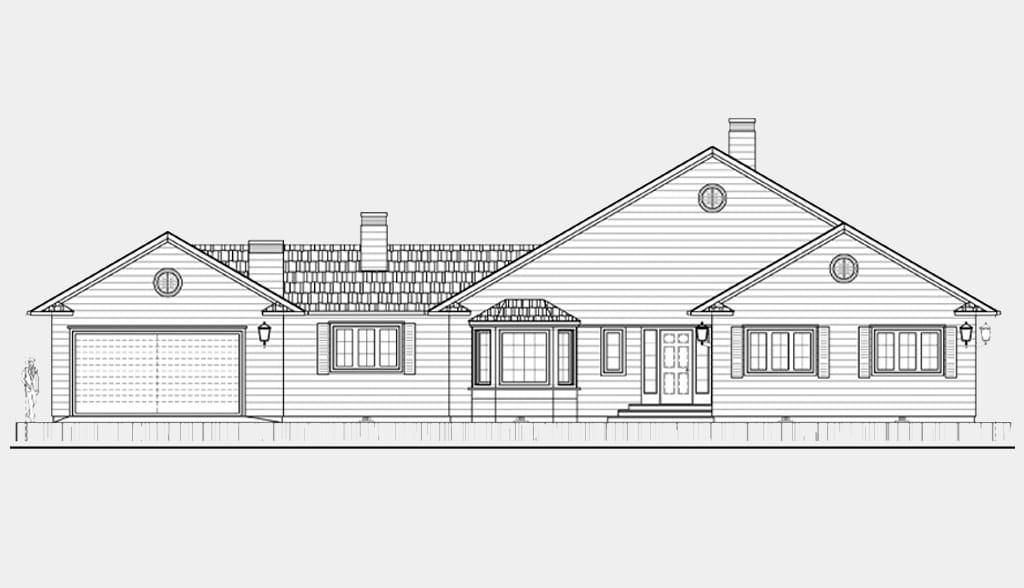 Planos de casas americanas canexel for Ver planos de casas de una planta