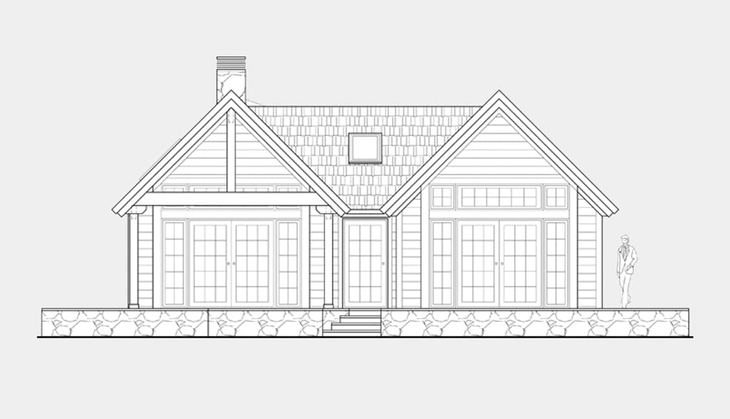 Planos de casas de una planta canexel for Planos de casas para construir de una planta