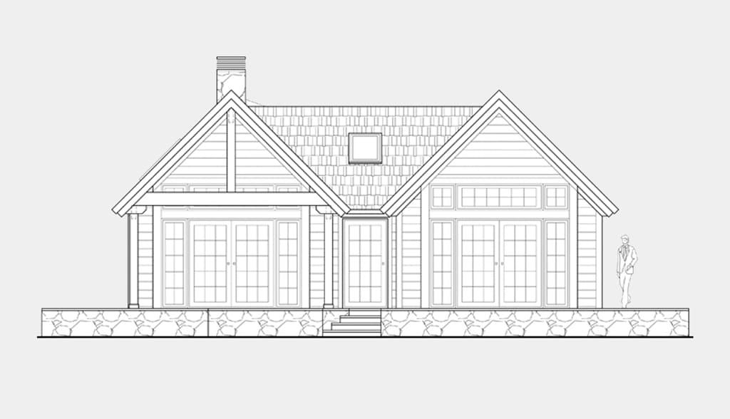 Planos de casas de una planta canexel for Planos de casas pequenas de dos plantas