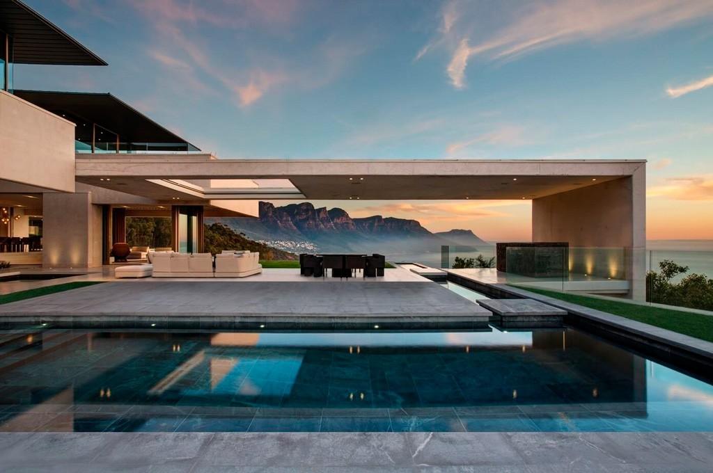casa moderna paradisíaca