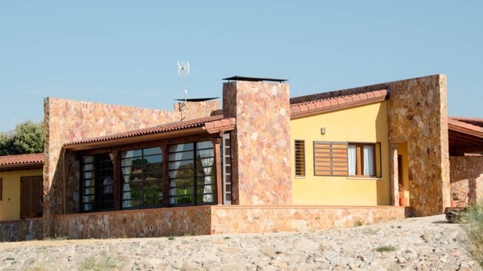 casa rústica en madrid