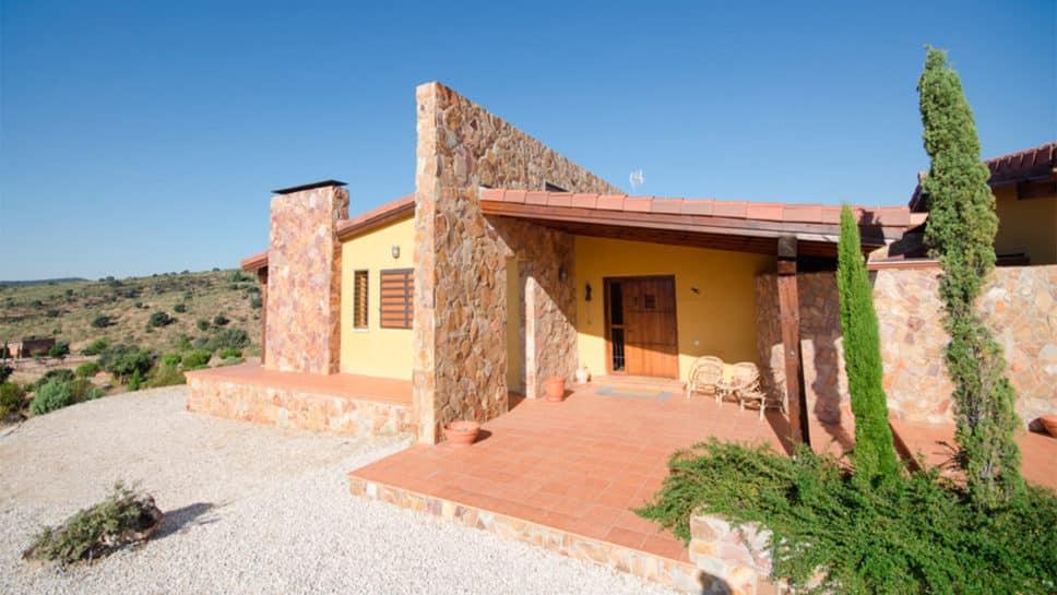 Casa rústica de una planta en Valdemorillo