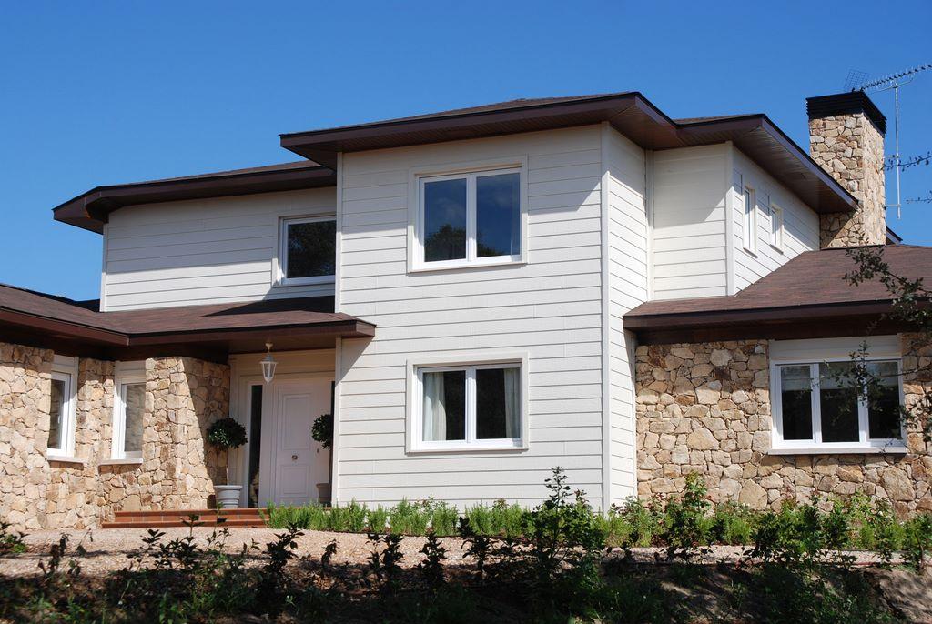 Casas de dos pisos canexel for Disenos de casas americanas