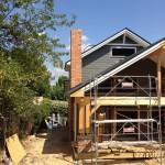 construcción de casa canadiense