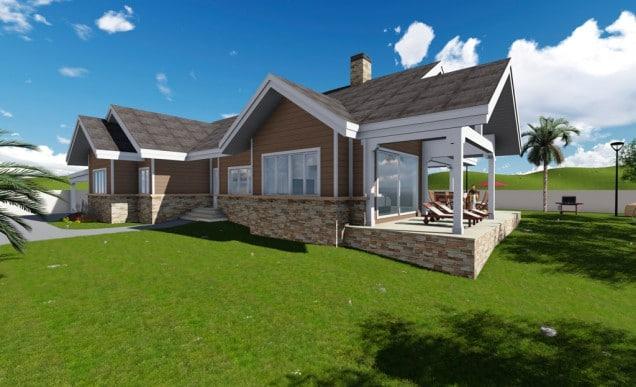 diseño de casa pasiva