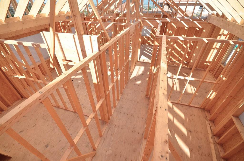 Estructura de casa de madera canexel - Estructura casa madera ...