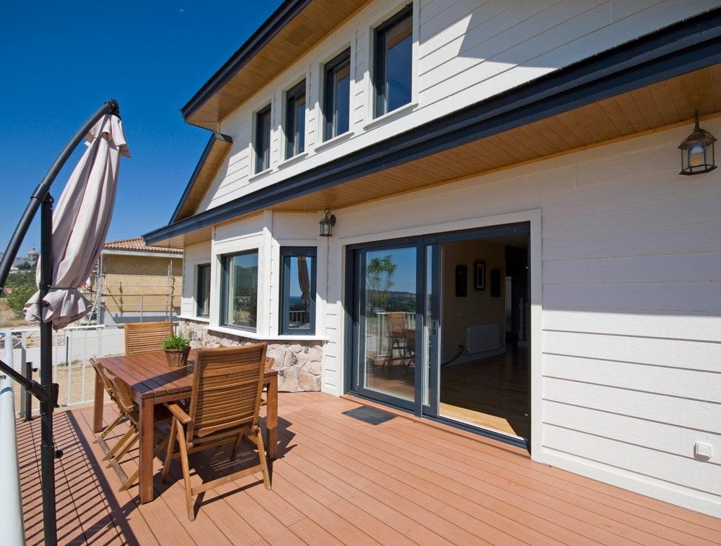 Diseos de casas de dos plantas finest casa de madera dos - Casas de madera de dos plantas ...