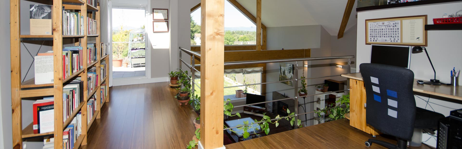 Interior de casa Canexel