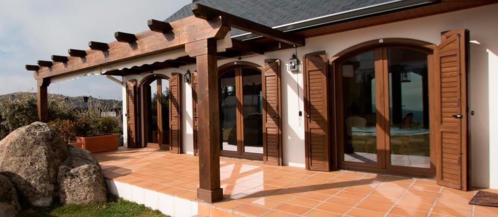 Construir una pergola de madera pergola de madera en el jardin construir pergola de madera - Construir pergola de madera ...