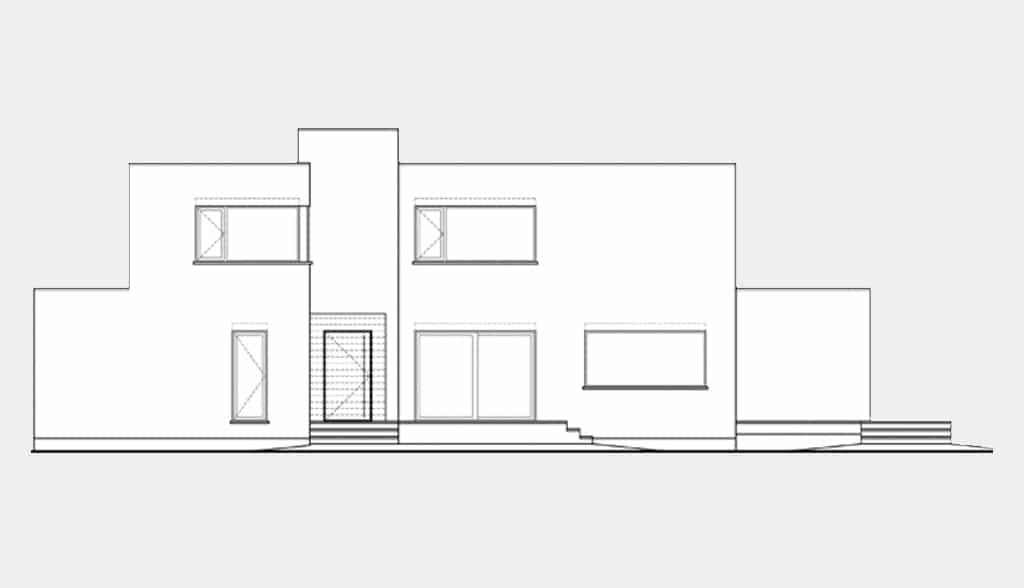 Planos de casas modernas canexel for Arquitectura de casas modernas planos