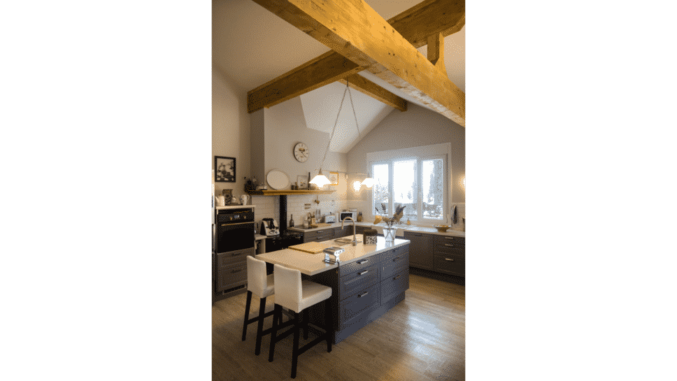 Isla de la cocina