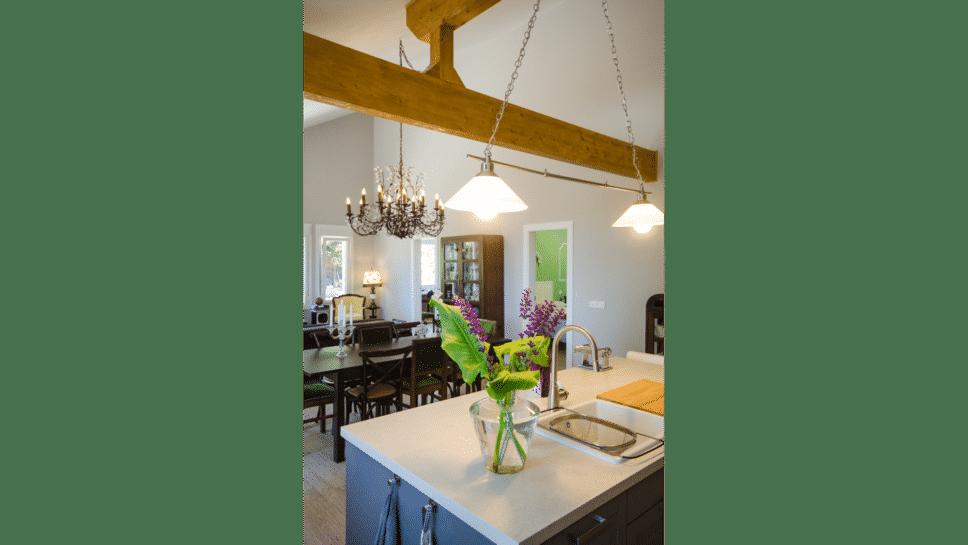zona abierta cocina y salón