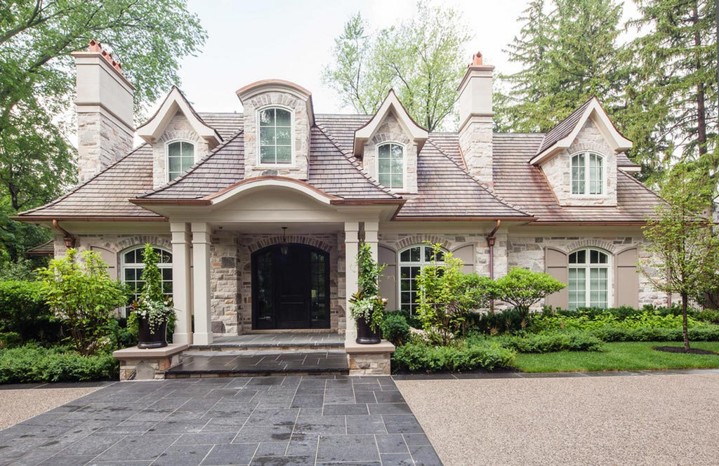 La casa americana moderna el estilo neo eclectic canexel Casas modernas americanas