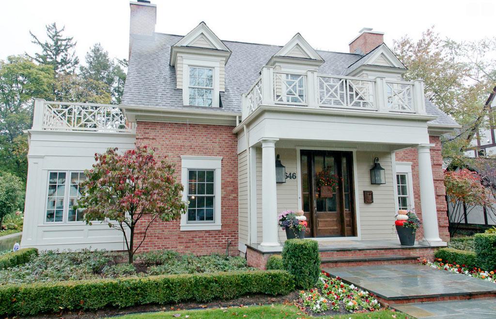 casa clasica americana