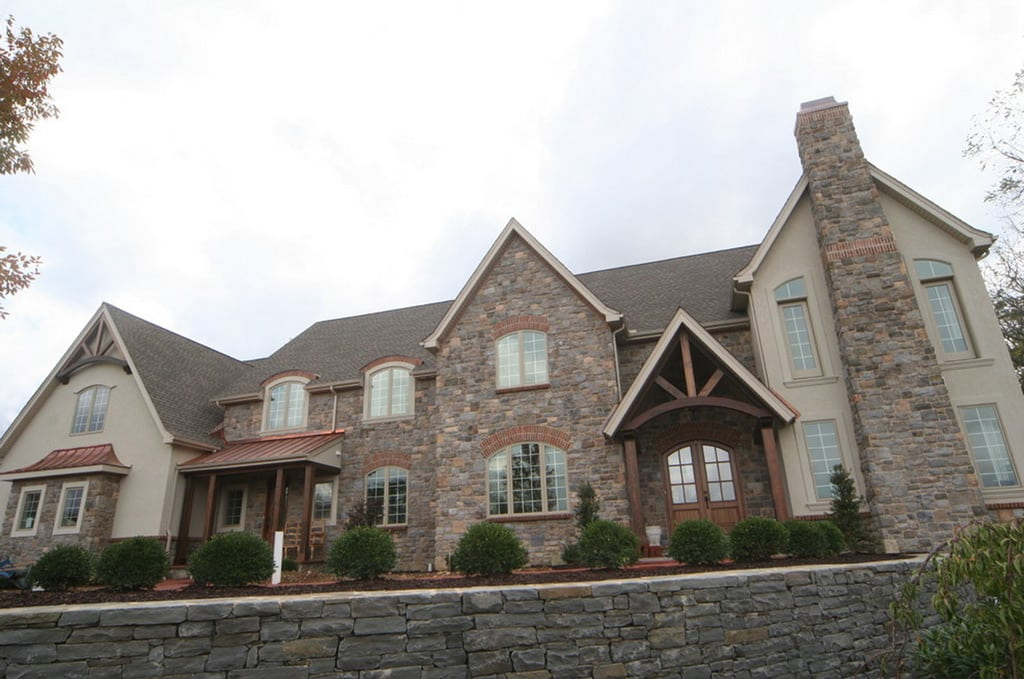 La casa americana moderna el estilo neo eclectic canexel for Casas estilo moderno