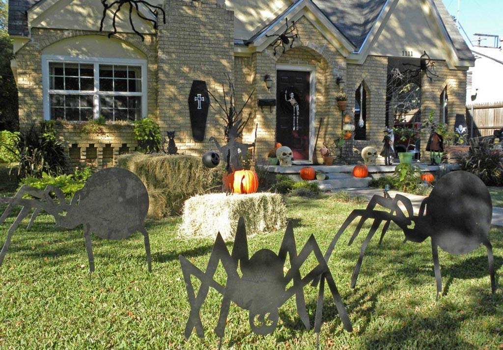 decoración de vivienda en halloween